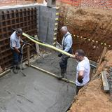 Structural concrete slab