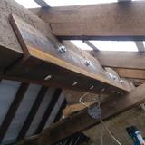 Structural roof repair