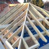 Hand cut hipped roof 1