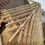 Hand cut hipped roof 2