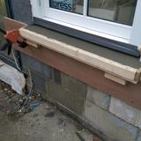 New cast window sill